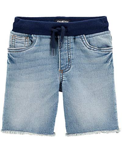 OshKosh B'Gosh - Pantalón Corto para niño, Washed Element, 4 Años