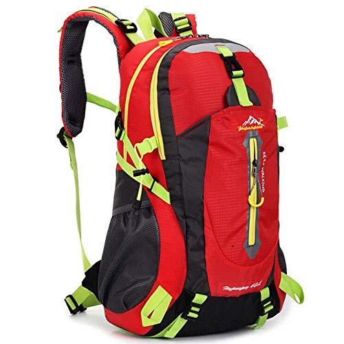 Mosako - Mochila al aire libre, 1 bolsa de montañismo, para mujer, camping, ciclismo, 40 l, mochila de viaje, impermeable, para deportes de viaje