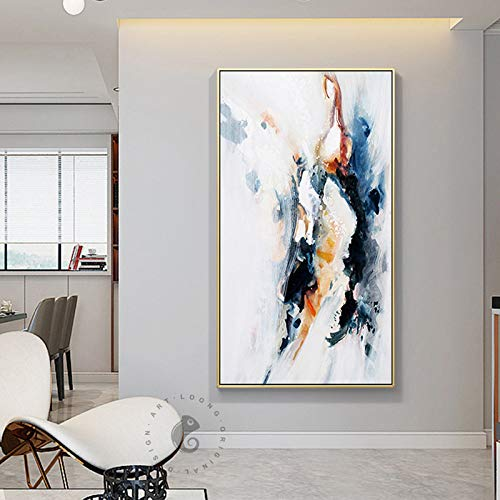 Moderne hängende Malerei Kunst nordischen Stil Aquarell Tintenfisch Home Wanddekoration Malerei