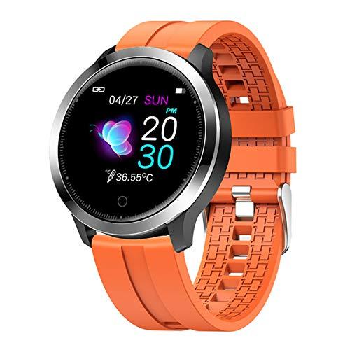 YDZ F68 Fitness Smartwatch Man Hombre Monitor De Ritmo Cardíaco Detección De Ejercicios Modo Multifunción Modo De Ejercicio Pulsera Smart Watch para Android iOS,E