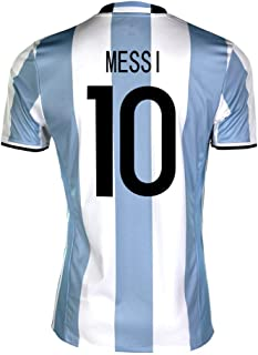adidas Messi #10 Argentina Home Soccer Youth Jersey 2016