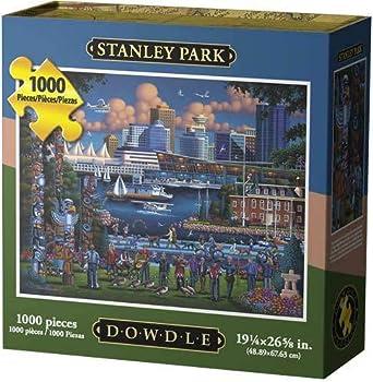Dowdle Jigsaw Puzzle - Stanley Park - 1000 Piece