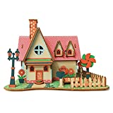 Wooden 3D House Building Puzzle DIY Miniature Dollhouse Kit - Easy to Assemble - Fun and Educational Wood Construction Kits Toy for Kids and Adults Decoration for Home Best Birthday Gift Selection