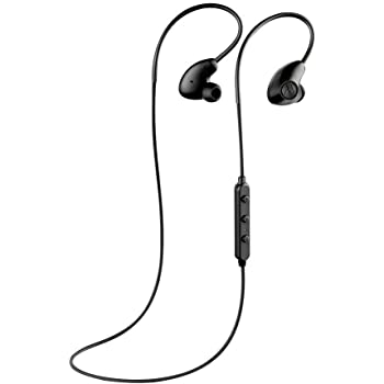 "Motorola Verve Loop 500 ANC Sweat & Water Resistant Stereo Bluetooth 4.2 Earbuds ""Siri & Google"" Compatible (Retail Packing Kit) - Black"