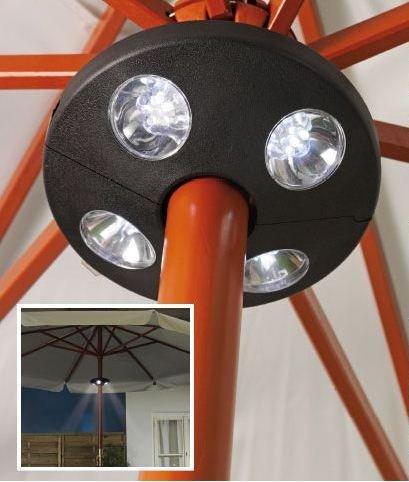 Florabest LED Gartenschirmleuchte Sonnenschirm Lampe Caming Lampe