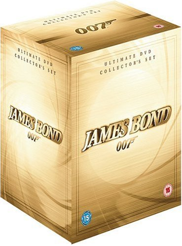 James Bond Collection - 42-DVD Box Set ( Casino Royale   Die Another Day   The World Is Not Enough   Tomorrow Never Dies   GoldenEye   Licence to [ NON-USA FORMAT, PAL, Reg.2 Import - United Kingdom ]