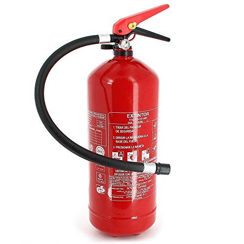 SUMEX EXT0006 Estintore Rosso 6 kg ABC in Polvere