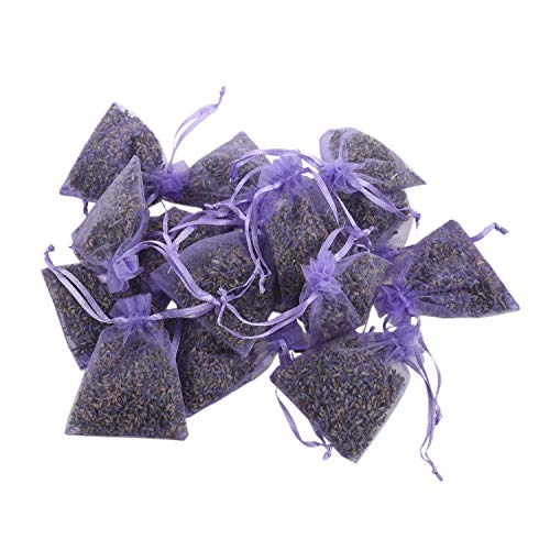 TOOGOO Emballage De Lavande 15 Paquets | Déodorant Naturel,Sac Floral Séché,Sachet De Parfum De Lavande à La Plus Haute Fragrance