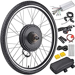Real Wheel E-bike Conversion Kit - easy to convert your bike to an electric powered scooter/moped Dual Mode Controller: Motor works under Hall effect & non-Hall effect (For 1 mode controller, the motor only work under Hall effect, if hall components ...