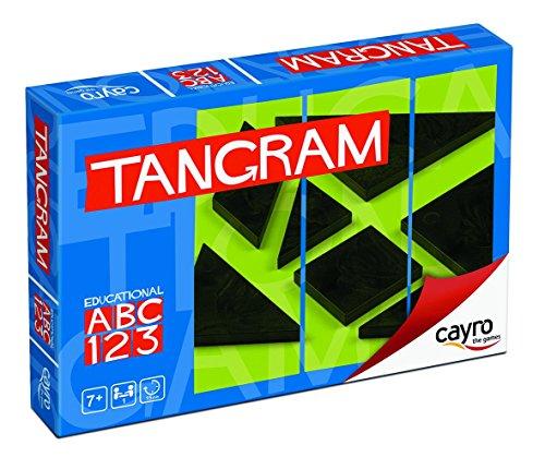 Cayro CV-Juego DE LOGICA Tangram