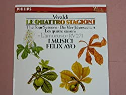 Vivaldi: The Four Seasons; Concerto in B-flat Op. 8 No. 10, RV 362