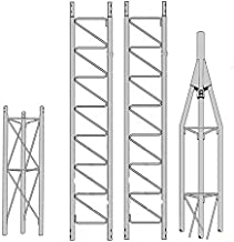 ROHN 25G Series 30' Tower with 25AG Top Section with Set Screw