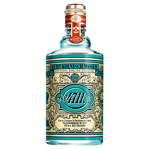 4711 Véritable eau de Cologne - 75 ml - Flacon molanique - Parfum classique dans un flacon emblématique - Unisexe - Bénéfique pour le corps, l'esprit et l'âme.