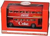 Coca Cola(コカ コーラ)シリーズ ルートマスター ロンドン ダブルデッカー バス 1/64スケール 464001