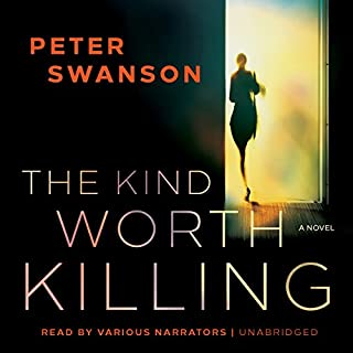 The Kind Worth Killing                   Auteur(s):                                                                                                                                 Peter Swanson                               Narrateur(s):                                                                                                                                 Johnny Heller,                                                                                        Karen White,                                                                                        Kathleen Early,                   Autres                 Durée: 10 h et 18 min     29 évaluations     Au global 4,3
