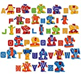 Product Image of the Alphabet Robots Toys for Kids, ABC Learning Transformers Toys, Action Figure...