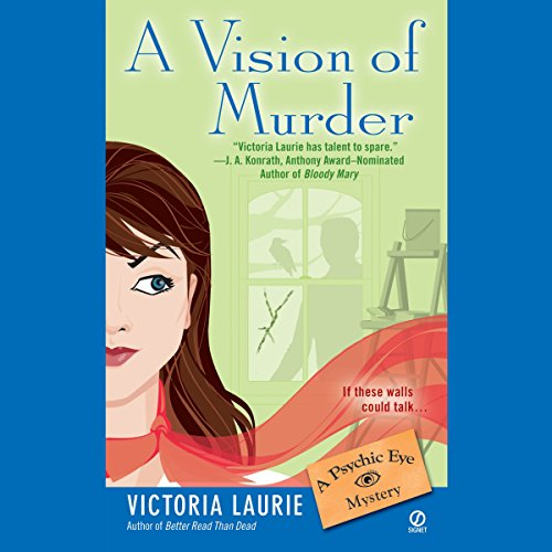 A Vision of Murder audiobook cover art