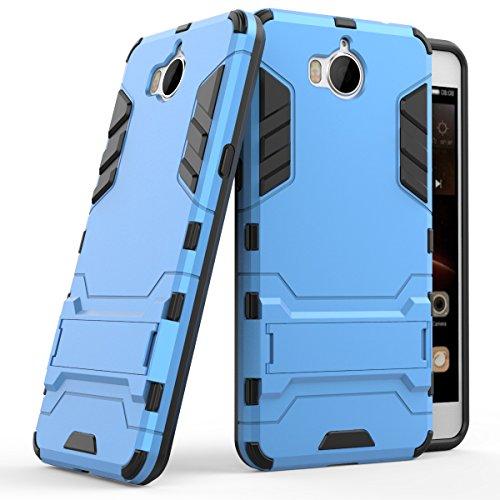 MaiJin Funda para Huawei Y5 2017 / Y6 2017 (5 Pulgadas) 2 en 1 Híbrida Rugged Armor Case Choque…