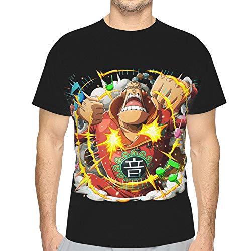 FXNOW Camiseta divertida para hombre Scratchmen Apoo O-N-E-Piece Camiseta de manga corta