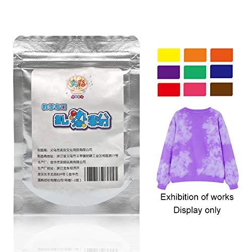 LZDseller01 Juego de tinte de 9 colores de un solo paso, kit de tinte para tejidos,...
