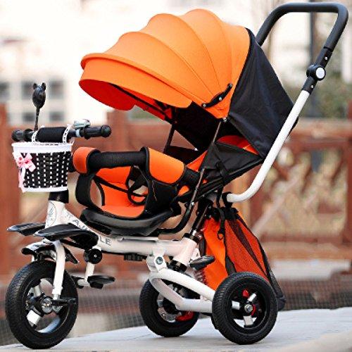 QXMEI Triciclo Infantil De 1 A 3 Años De Edad, Carrito Plegable...