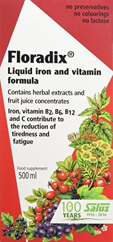 Floradix Sol 500Ml Hierro+ Vitaminas