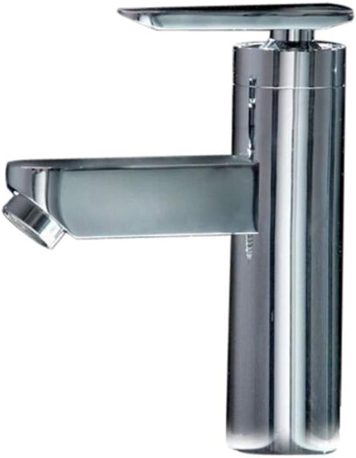 Taps Mixer?Swivel?Faucet Sink Bathroom Single Handle Single Hole Basin Bathroom Cabinet Hot and Cold Water Faucet Single Faucet