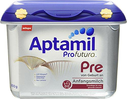 Aptamil Profutura Pre Anfangsmilch von Geburt an, 4er Pack (4 x 800 g)