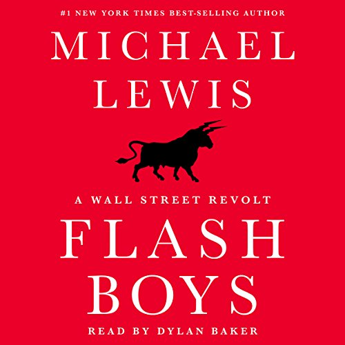 Flash Boys audiobook cover art