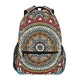 Mochila Rootti Bohemia Mandala patrón senderismo mochilas al aire libre escuela viaje portátil mochila mochila mochila para niños adultos niños niñas