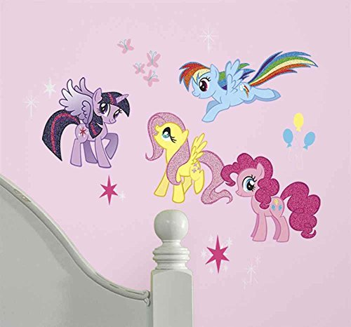 RoomMates My Little Pony Peel And Stick Wall Decals - RMK2498SCS,Multi