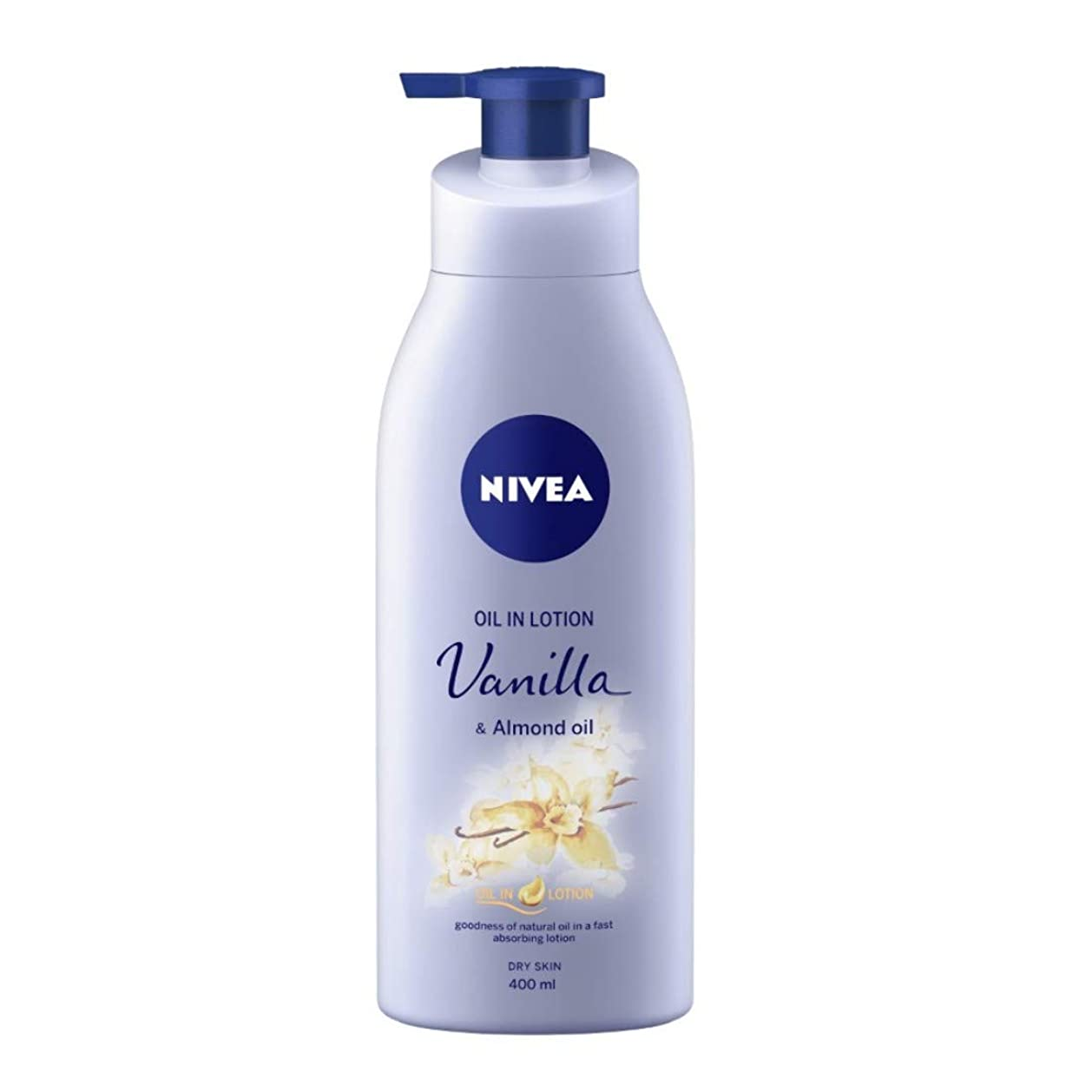 オーロックコントラストレガシーNIVEA Oil in Lotion, Vanilla and Almond Oil, 400ml