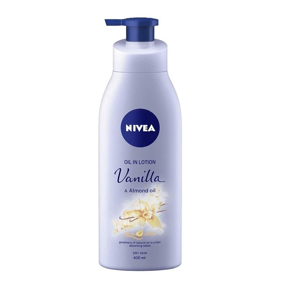 むき出しピカソ回路NIVEA Oil in Lotion, Vanilla and Almond Oil, 400ml