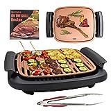 Best Indoor Electric Grills - Electric BBQ Smokeless Grill Indoor - Nonstick Tabletop Review