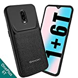 NEWDERY OnePlus 6T Battery Case, 4700mAh Slim Extended Charger...