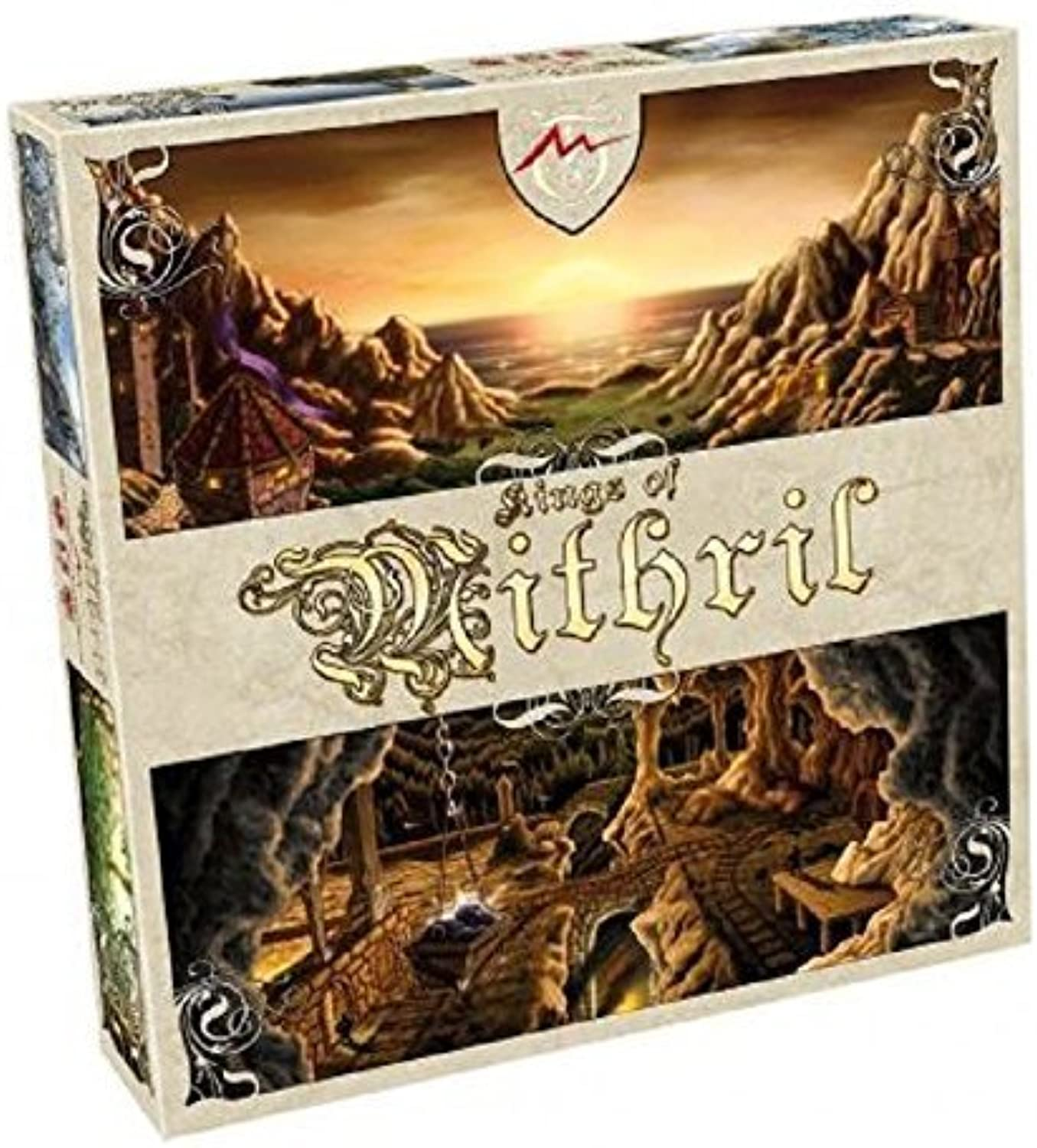 Mind Warrior  Kings Of Mithril Board Game by Tactic Games