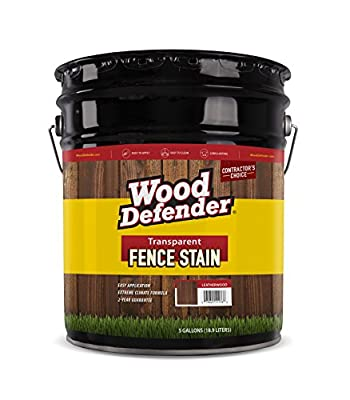 Wood Defender - Transparent Fence Stain- 5 Gallon