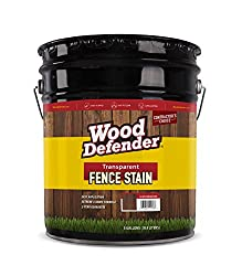 top rated Transparent Fence Paint Wood Defender OXFORDBROWN 5 gallon 2021