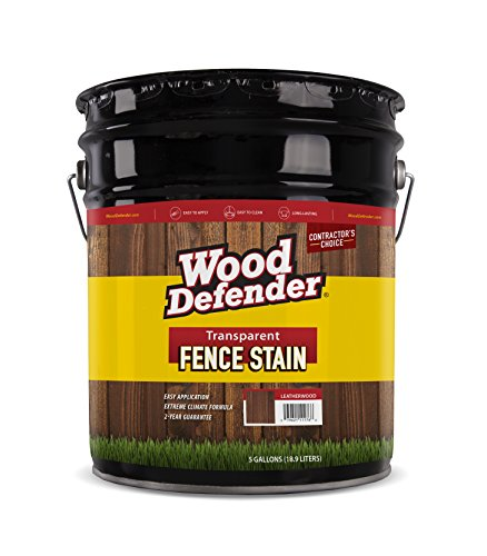 Wood Defender Transparent Fence Stain CEDAR TONE 5-gallon