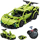 WisePlay Build Your Own RC Car Kit, Remote Control Car for Boys 8-12, 453pc Stem Building Sets for...