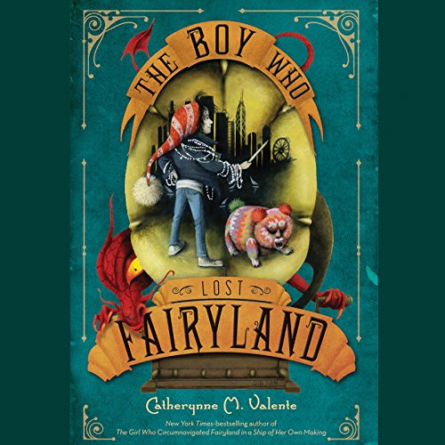 The Boy Who Lost Fairyland audiobook cover art
