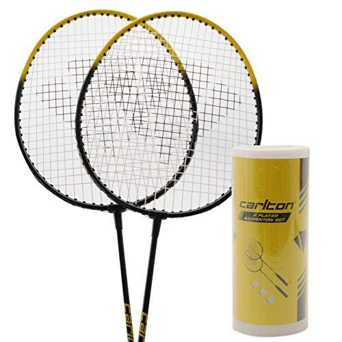 Carlton 2 Player-Set da Badminton Unisex racchette, volani & Sports Accessories