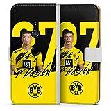 Etui Compatible avec Sony Xperia XZ 3 Etui Folio Etui magnetique Borussia Dortmund BVB Bundesliga