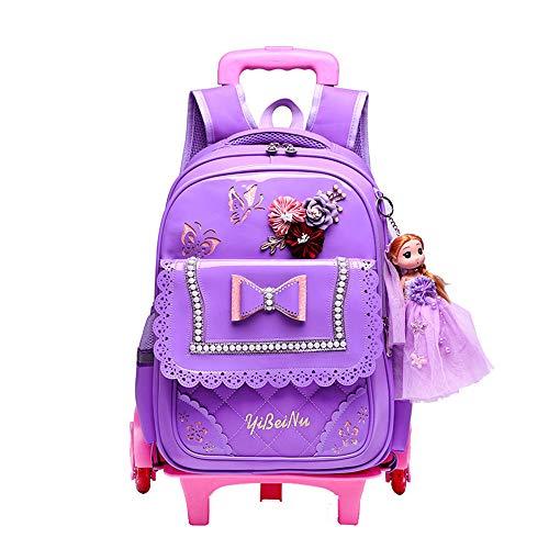 Caki Sweigo Cute Princess Style Backpack Primary BookBag Elementary Daypack Outdoor Travel Luggage Rucksack for Girls