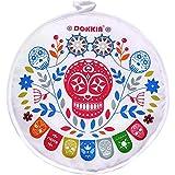 DOKKIA - Bolsa de tela aislante para calentar tortillas, 30,5 cm, apta para microondas, para mantener la comida caliente 30,5 cm Fiesta Skull Picado Cinco De Mayo