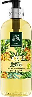 Eyüp Sabri Tuncer Doğal Zeytinyağlı Sıvı Sabun Hawaıı Ananas 500 Ml Pet Şişe 1 Paket (1 x 500 ml)