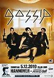 Gossip - Music for, Hannover 2010 » Konzertplakat/Premium