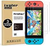 iVoler 3 Pack Pellicola Vetro Temperato per Nintendo Switch,