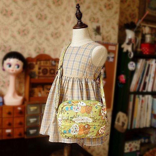 Elegant Free Shipping Cute Handmade Japanese Fabric Kids Kokka Girl Industry No. 1 Bag