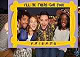 Friends Party Decorations-Friends Themed Photo Booth Props for Graduation Party,Birthday Party Supplies,2021 Graduation Selfie Photo Booth Props Frame